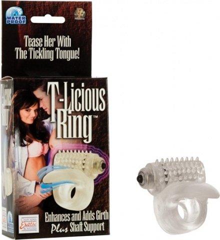 Кольцо на пенис с язычком t-licious