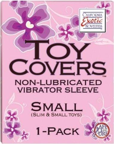 Насадка для секс-игрушки toy cover small (slim &amp small) (большое фото) > Секс-шоп Мир Оргазма