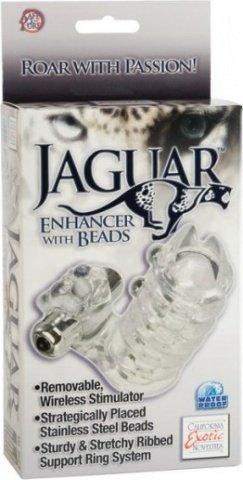 Стимулирующая насадка на пенис Jaguar 10 см, фото 5