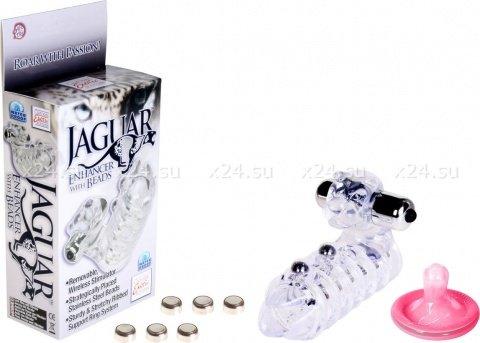Стимулирующая насадка на пенис Jaguar 10 см, фото 7