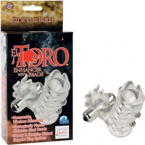 Утолщающая вибро-насадка el toro