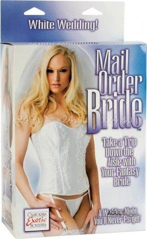 Горячая невеста-блондинка