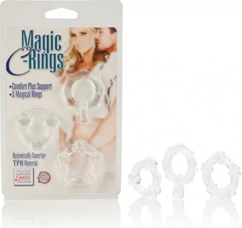 Колечки прозрачные magic c-rings