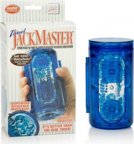 Премиум-мастурбатор jack master blue