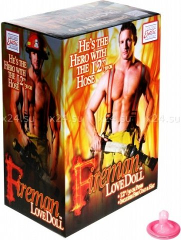Кукла-пожарник fireman, фото 4