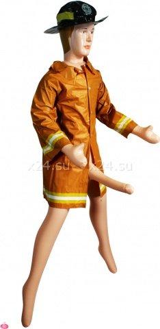 Кукла-пожарник fireman