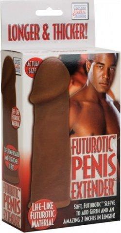 Утолщающая и удлиняющая насадка futurotic penis, фото 5