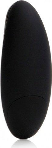 Изогнутый черный вибростимулятор luxe, фото 5