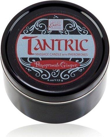 Массажная свеча с феромонами с ароматом граната и имбиря tantric pomegranate ginger, фото 2