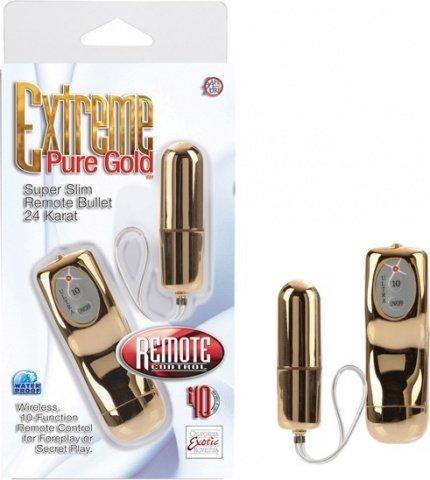 Радио-буллет с 10 функциями pure gold