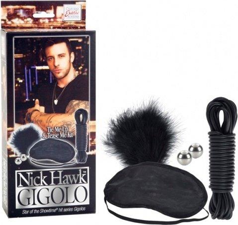 Набор аксессуаров для эротических игр и связывания gigolo