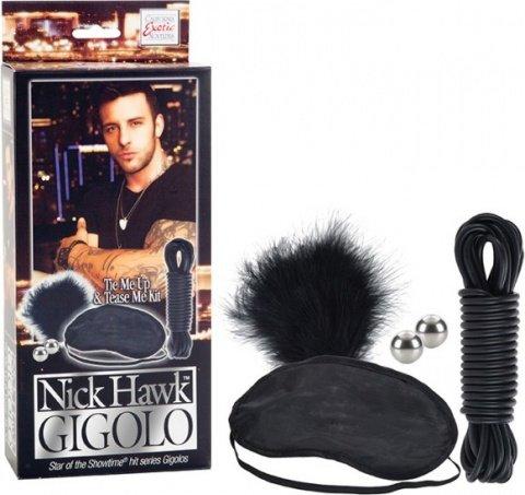 Набор аксессуаров для эротических игр и связывания gigolo, фото 2