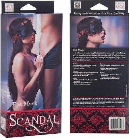 Дизайнерская маска на глаза scandal, фото 4