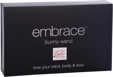Вибромассажер для g-стимуляции embrace bunny wand (7 режимов), фото 4