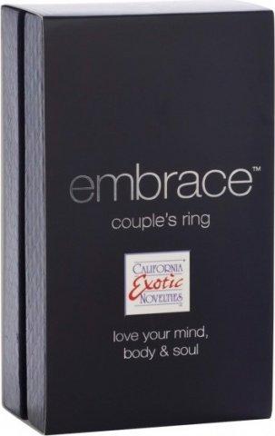 Эрекционное мощное вибро-кольцо embrace (7 режимов), фото 3
