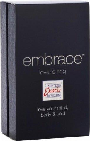 Эрекционное мощное вибро-кольцо embrace (7 режимов), фото 4