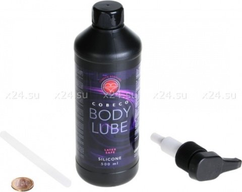 Любрикант на силиконовой основе с дозатором BodyLube (500 мл)