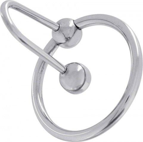 Кольцо на головку члена с фиксацией в уретре Steel Power Tools, фото 3