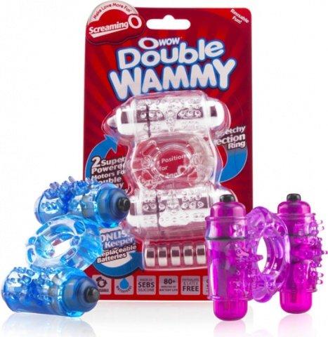 Кольцо с двойной вибрацией The Double Wammy