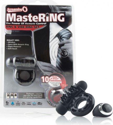 Виброкольцо с перстнем-контроллером mastering, фото 3