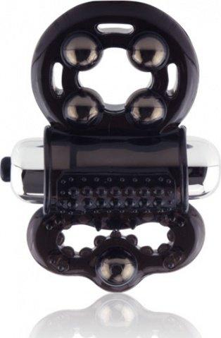Вибро-кольцо на член и мошонку с магнитами Man Incite, фото 4