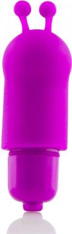 Мини-вибратор фиолетовый AmigOs Allie, фото 2