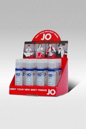 Набор охлаждающих любрикантов на водной основе jo h2o cool 12 х30 мл в боксе