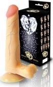 Фаллоим. реалистик 6 с присоской 17 см | Фаллоимитаторы без вибрации | Секс-шоп Мир Оргазма