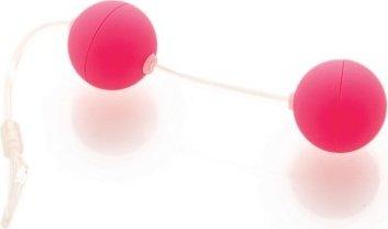 Шарики розовые со смещенным центром тяжести Funny Five, фото 3