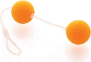 Шарики оранжевые со смещенным центром тяжести Funny Five, фото 3