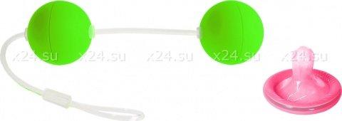 Шарики вагинальные 11 см зеленые