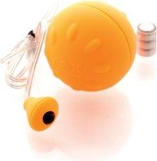 Виброяйцо оранжевое водонепроницаемое Funny Five, фото 3