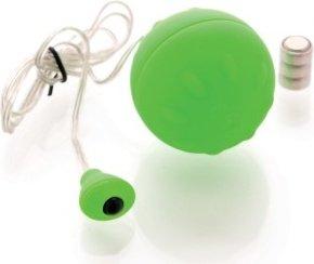 Виброяйцо зеленое водонепроницаемое Funny Five