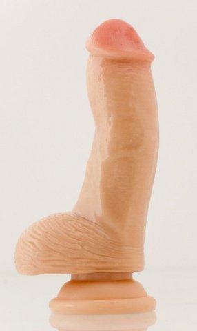 Мини-фаллос на присоске Realistic Dildo 10 см, фото 5