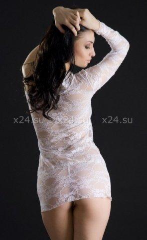 Платье белое кружевное, фото 2