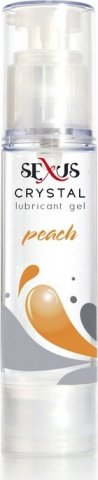 Увлажняющая гель-смазка на водной основе с ароматом персика Crystal Peach 60 мл, фото 2