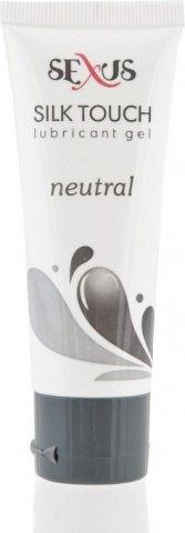 Увлажняющая гель-смазка на водной основе нейтральная Silk Touch Neutral 50 мл, фото 2