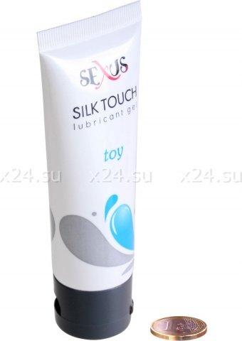 Увлажняющая гель-смазка на водной основе для секс-игрушек Silk Touch Toy 50 мл