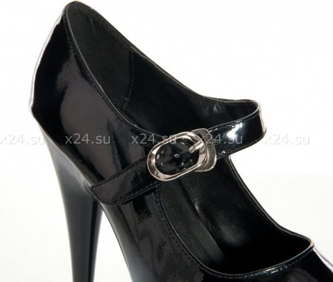 Туфли лакированные черные 38, фото 3
