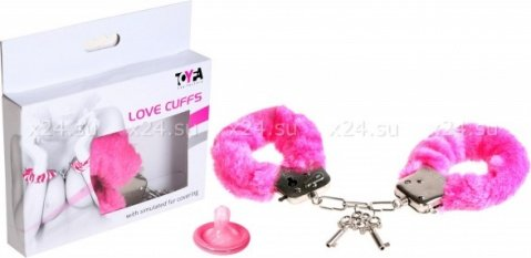 Наручники розовые Love Cuffs, фото 2
