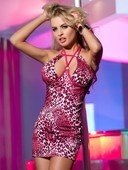 Платье с леопардовым рисунком | Мини платья | Интернет секс шоп Мир Оргазма