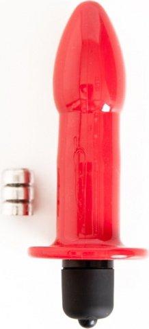 Вибровтулка 8 см красная
