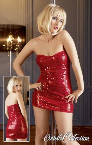L-Платье красное, фото 3