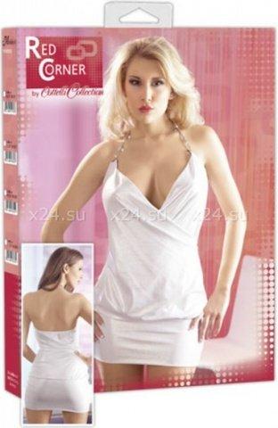 -Платье белое