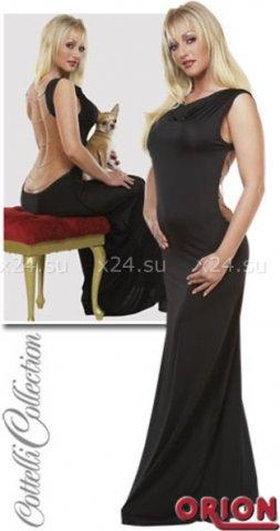 S-Платье черное