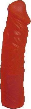 Насадка для страпона гелевая 19 см