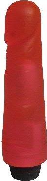 Вибратор гелевый розовый 17 см