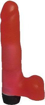 Вибратор гелевый розовый 20 см