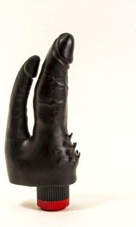 Вибромассажер черный