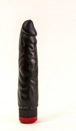 Вибратор реалистик черный Биоклон 16 см